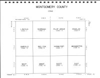Montgomery County Code Map, Montgomery County 1989